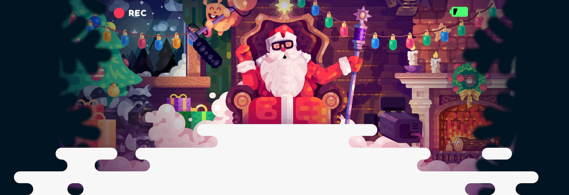 видео поздравление Деда Мороза